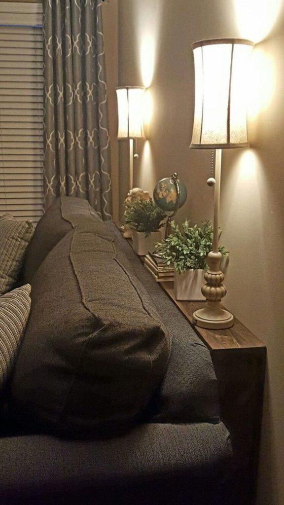 Iluminação direta ou indireta? Tudo depende da finalidade do cômodo! Via: pinterest