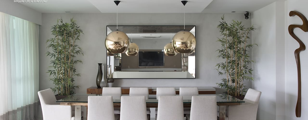 Espelhos decorativos.