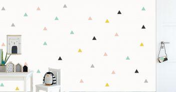 Adesivo de parede para quarto infantil.