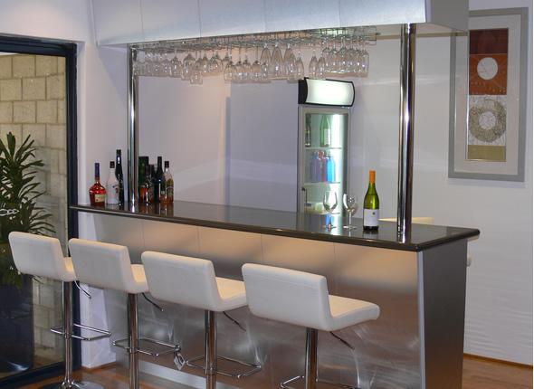 Bar em casa minha casa minha cara for Bares modernos para casas