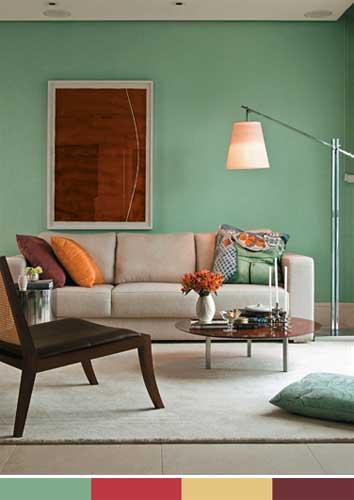 Série MMM Cores na decoração Minha casa, Minha cara ~ Quarto Pintado De Verde Musgo