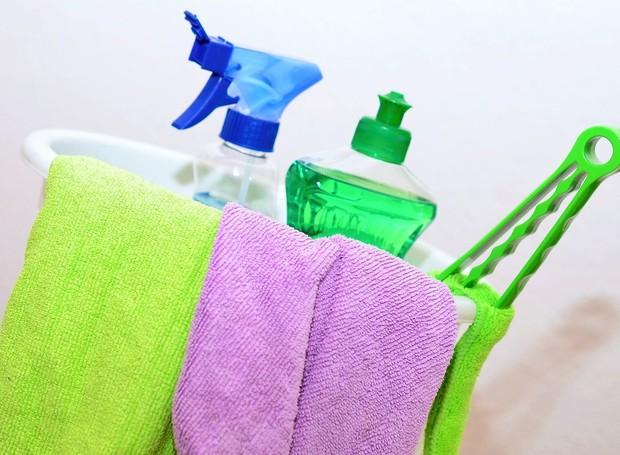 Dicas de limpeza para a casa.