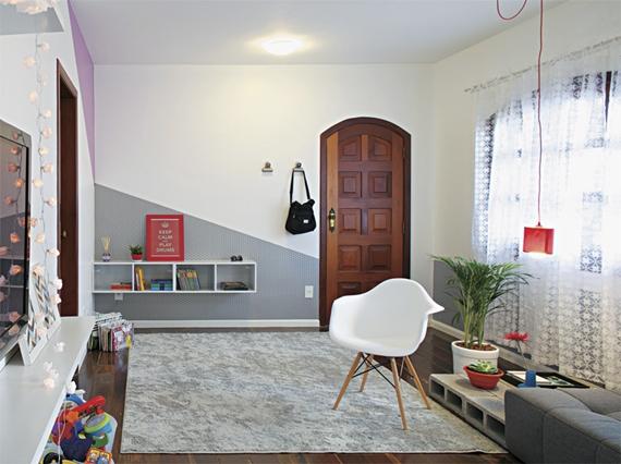 decoracao kitnet barata:Decoração de apartamento alugado -