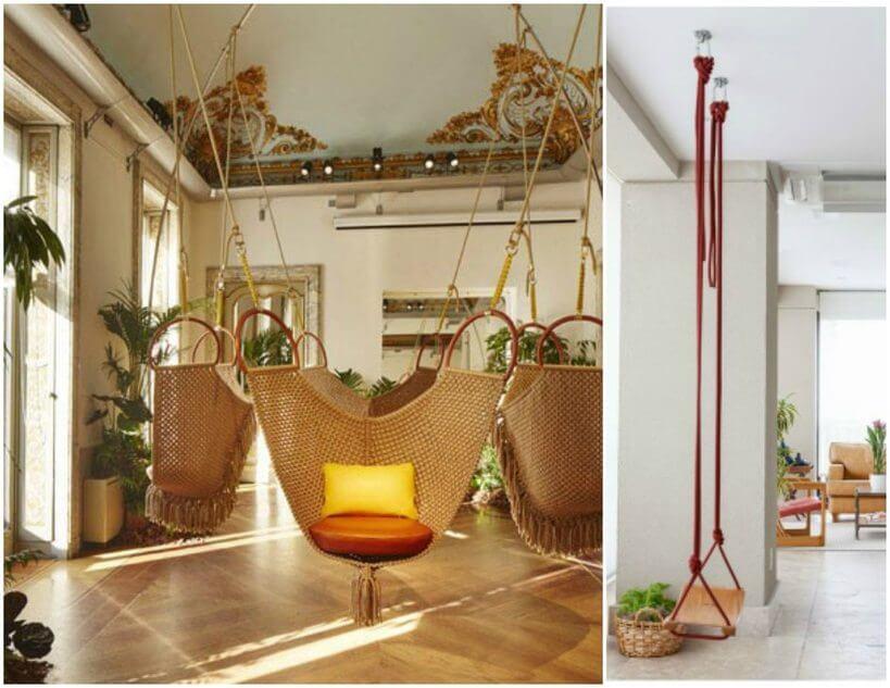 Modelos? Existem vários! É só escolher aquele que combina com a sua casa e com você! | Foto: reprodução Pinterest