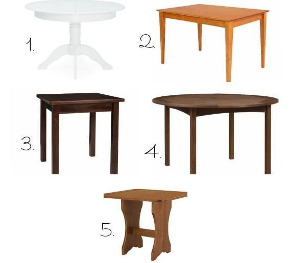 Mesa quadrada ou mesa redonda - Mesas pequenas ...