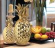 Abacaxi na decoração.