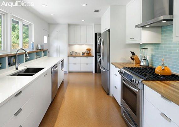 Cozinha do tipo corredor for Cocinas paralelas