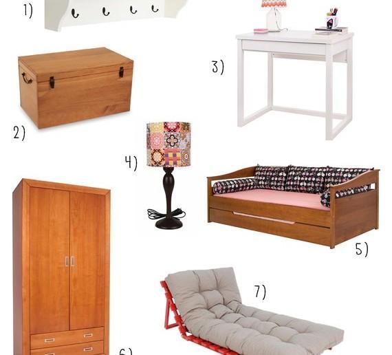 móveis da meu móvel de madeira para quarto de hóspedes