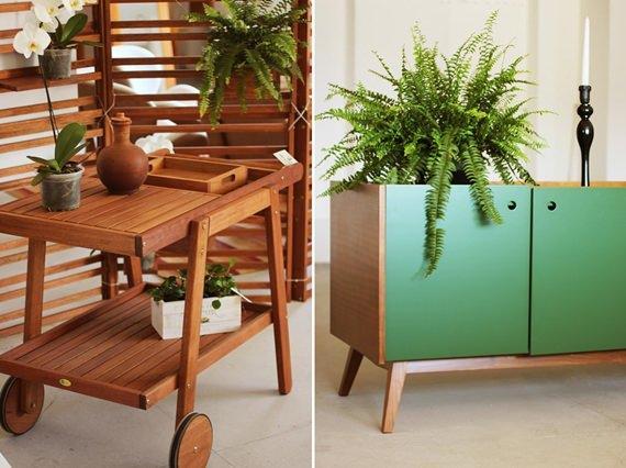 Carrinho de churrasco e balcão, móveis indispensáveis para a sala de jantar