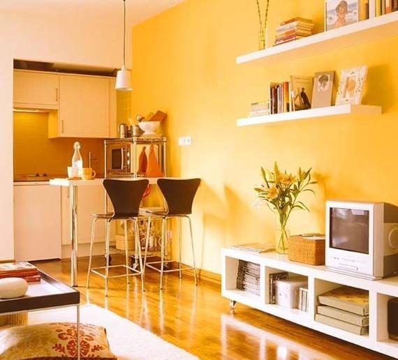Inspira o de cores para a sala de estar for Cores para sala de estar 2017