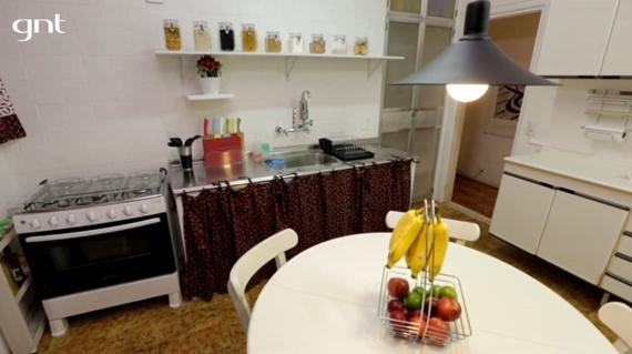 Cozinha reorganizada