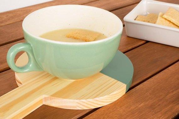 Mini Tábua com sopa
