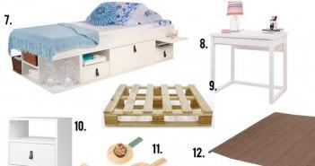 Móveis de madeira para quarto de solteiro