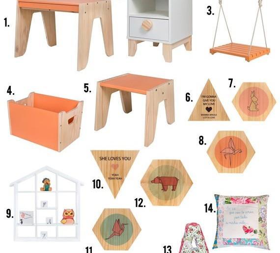 Móveis para quarto de criança