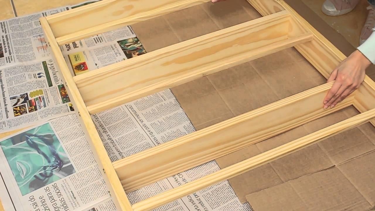 Como pintar um m vel de madeira for Como pintar puertas de sapeli