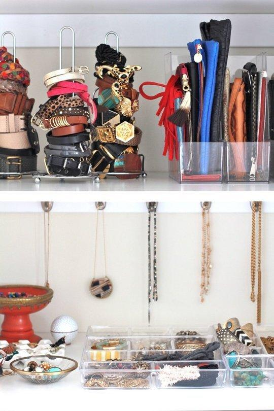 Como organizar as bijuterias