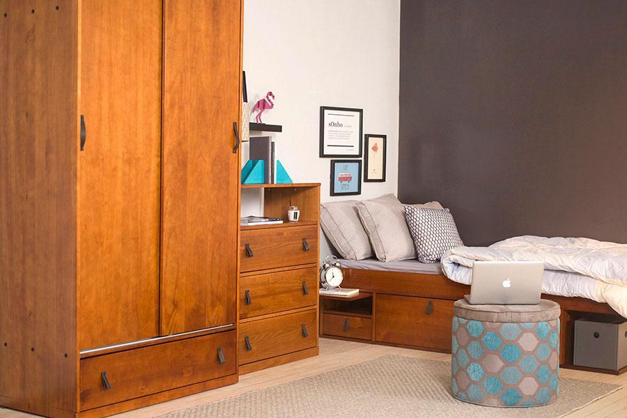 Móveis para quarto de solteiro