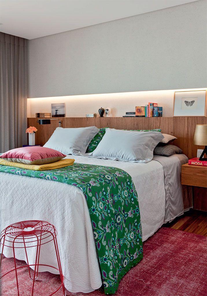 Como decorar a cabeceira de cama ~ Quarto Casal Nicho
