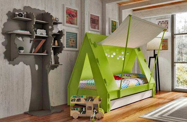 Cama tenda