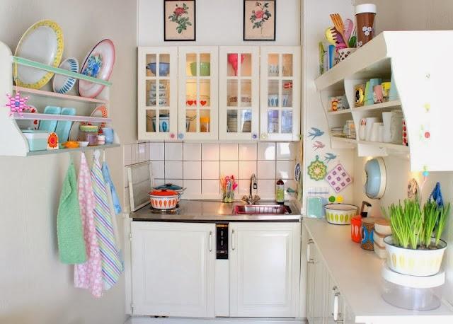 Cozinha delicada
