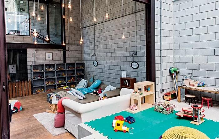 Elementos industriais na decora o for Casas de estilo industrial