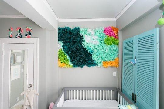 Enfeite DIY para o quarto do bebê