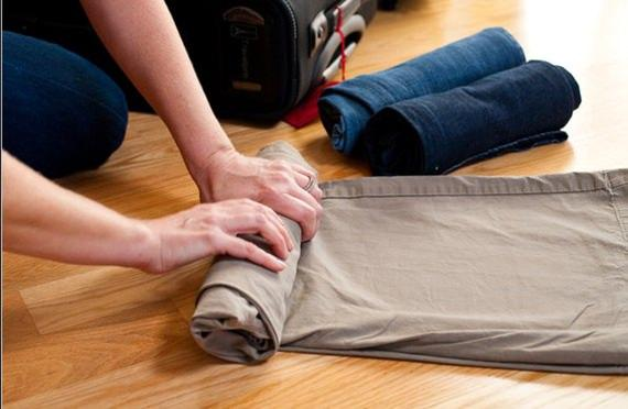Rolinho de roupas