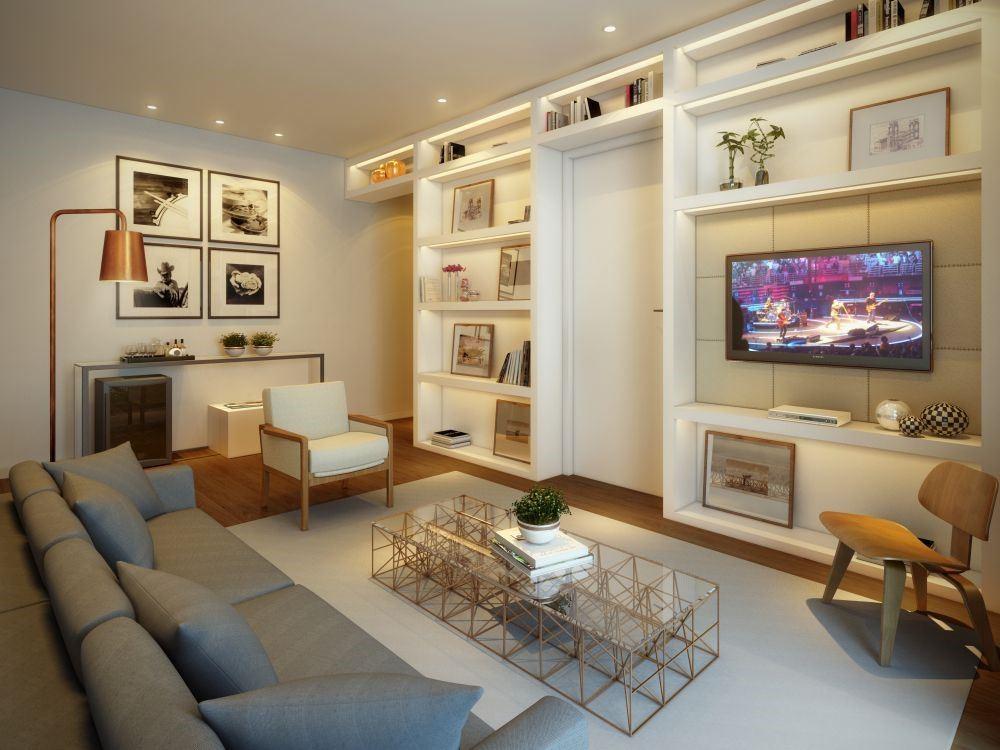 Veja algumas dicas de decora o usando cores e madeira for Sala de estar homescapes