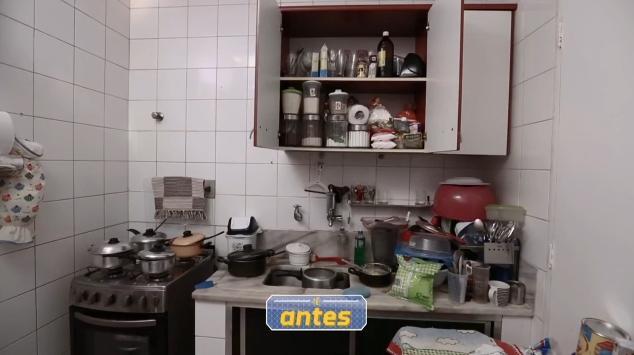 O antes da cozinha
