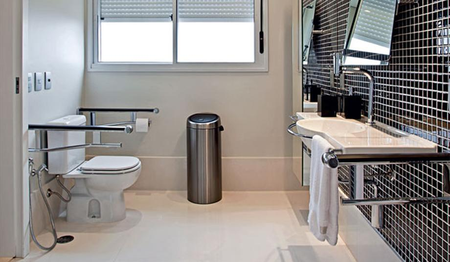 Banheiro para idoso