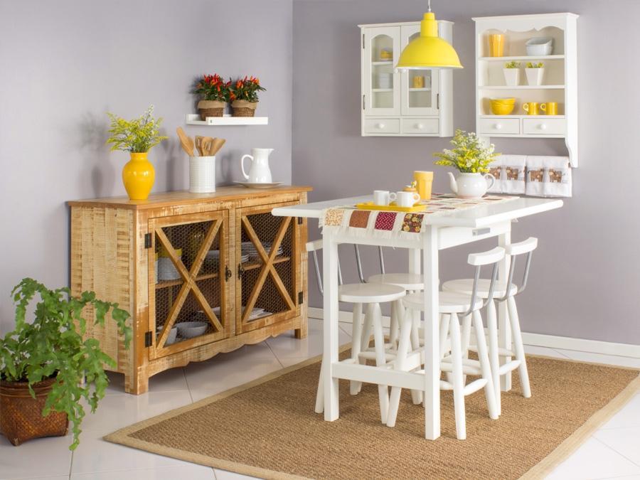 Móveis compactos para a cozinha