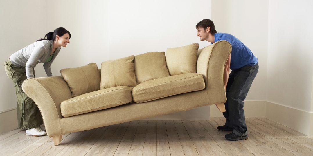 Rearranje seus móveis