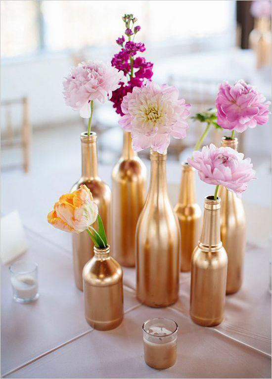 Vaso de garrafa