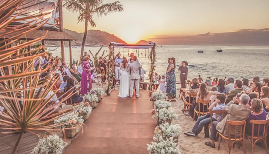 Super Como planejar um casamento na praia - SP31