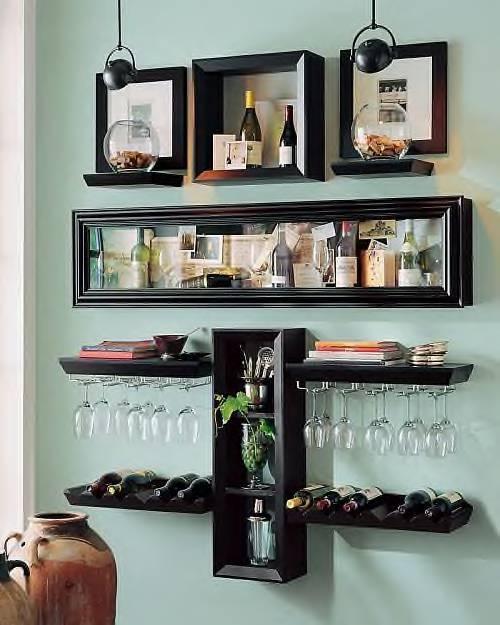 Fa a voc mesma minibar em casa - Presupuesto para montar un bar ...