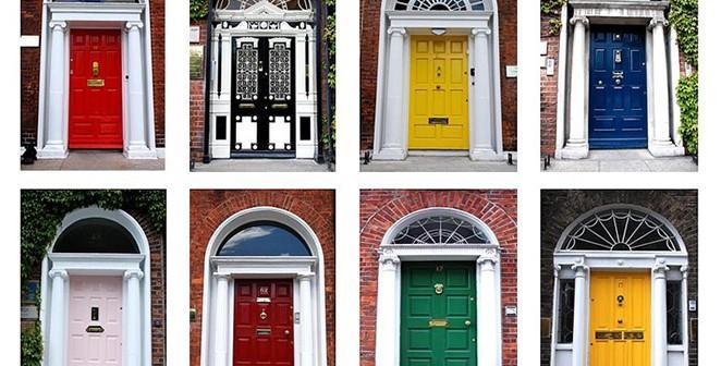 Faça você mesma: uma porta estilosa