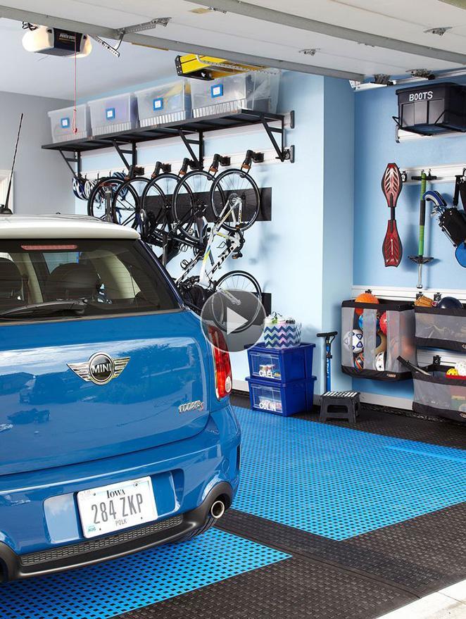 dicas sobre como organizar a garagem