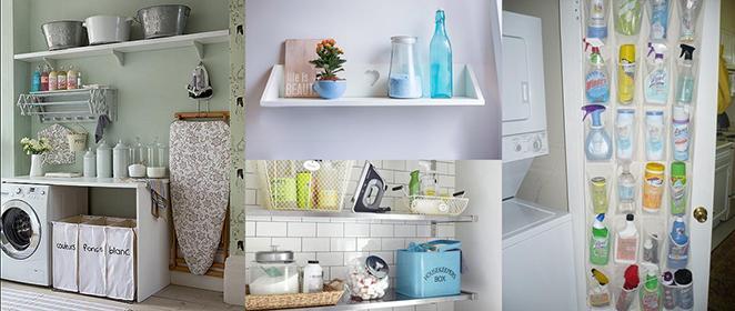 lavanderia organizada com dicas práticas