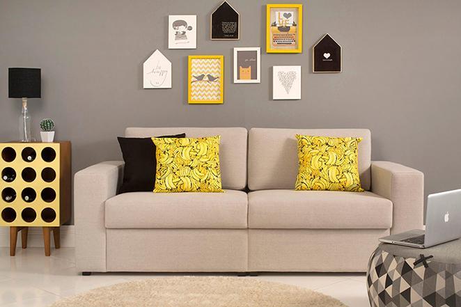 Como organizar a sala de estar com dicas de limpeza e organizacao na decoracao