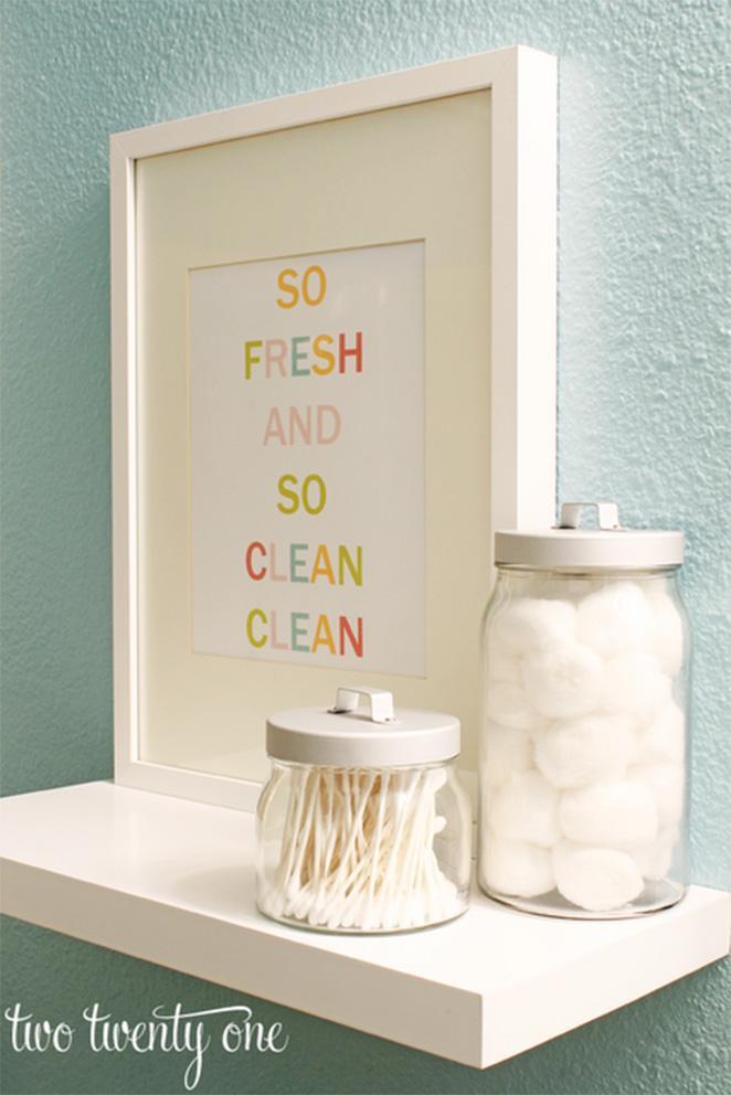 Como preparar o banheiro com produtos de limpeza pessoal para receber visitas