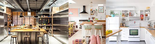 cozinhas americanas grandes