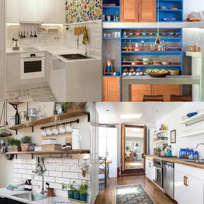 cozinha qual estilo e a sua cozinhas pequenas