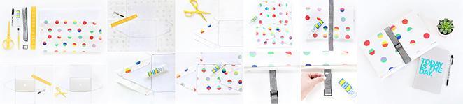 presente de natal artesanal case de notebook