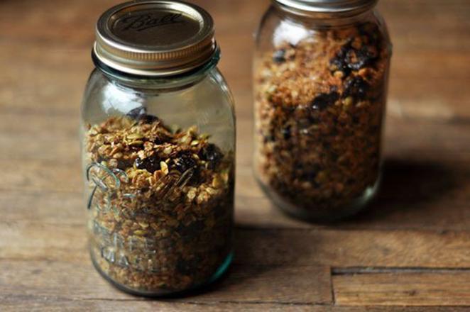 presente de natal artesanal granola feita em casa