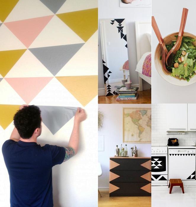 aprenda como dar um up na decoracao da sua casa com papel contact
