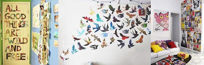 Como decorar a parede