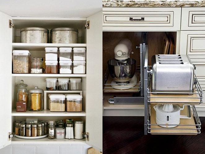 excellent como organizar armarios de cozinha com potes with como organizar un armario - Como Organizar Un Armario