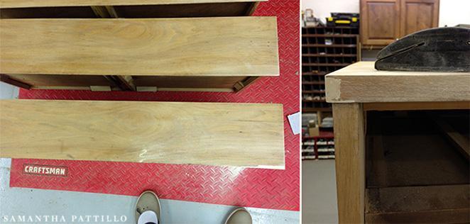 como reformar um balcao de madeira usando massa para madeira