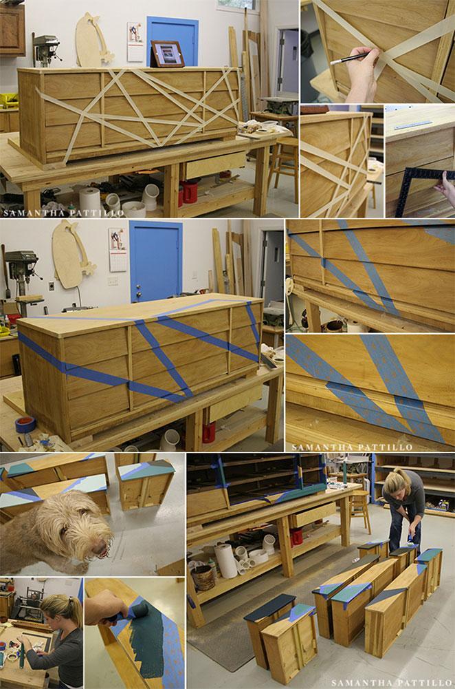 como reformar um balcao de madeira passo a passo