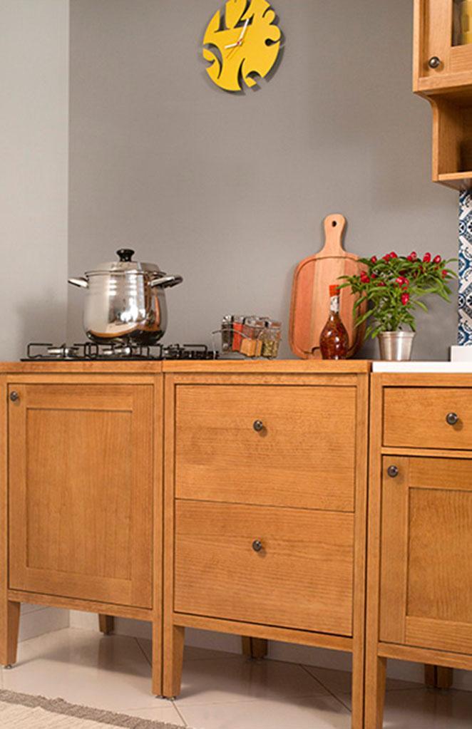 moveis para cozinha com cooktop